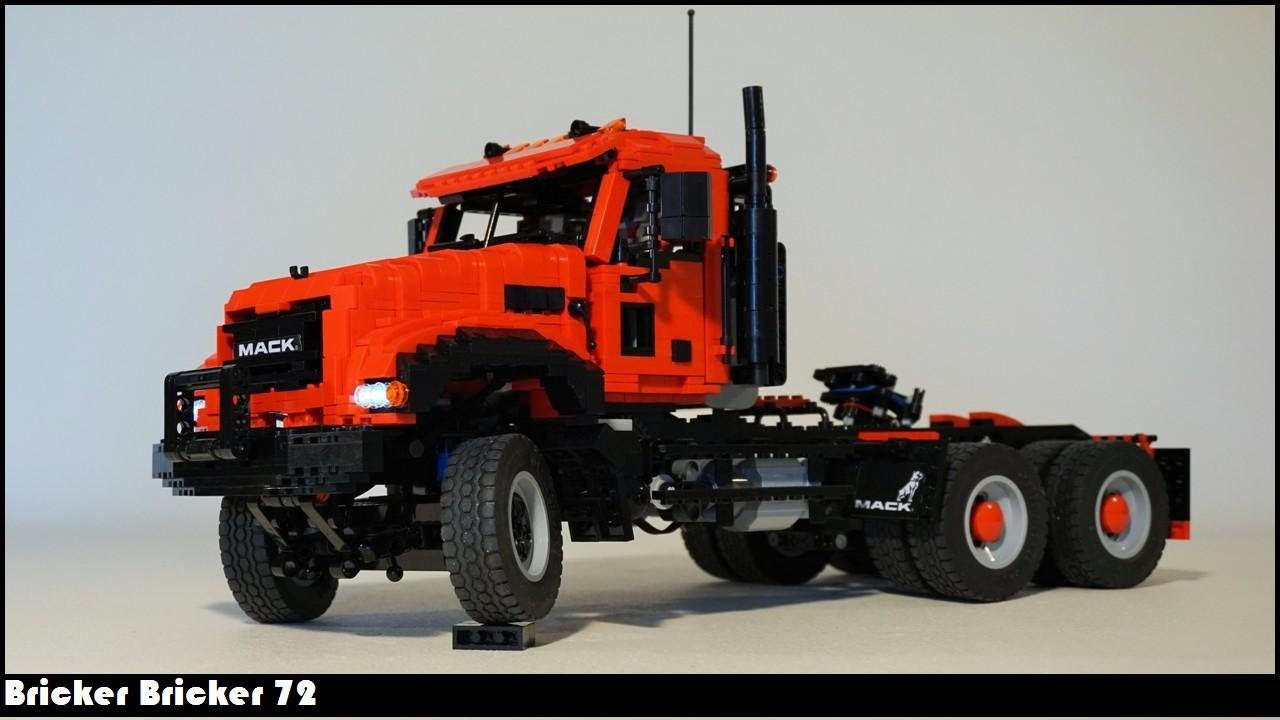 lego technic truck and trailer instructions