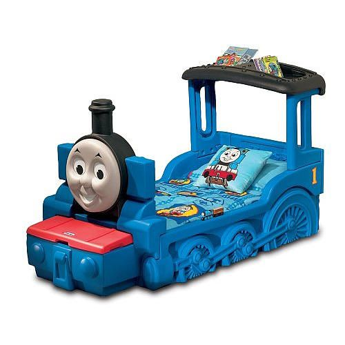 little tikes thomas friends train toddler bed instructions