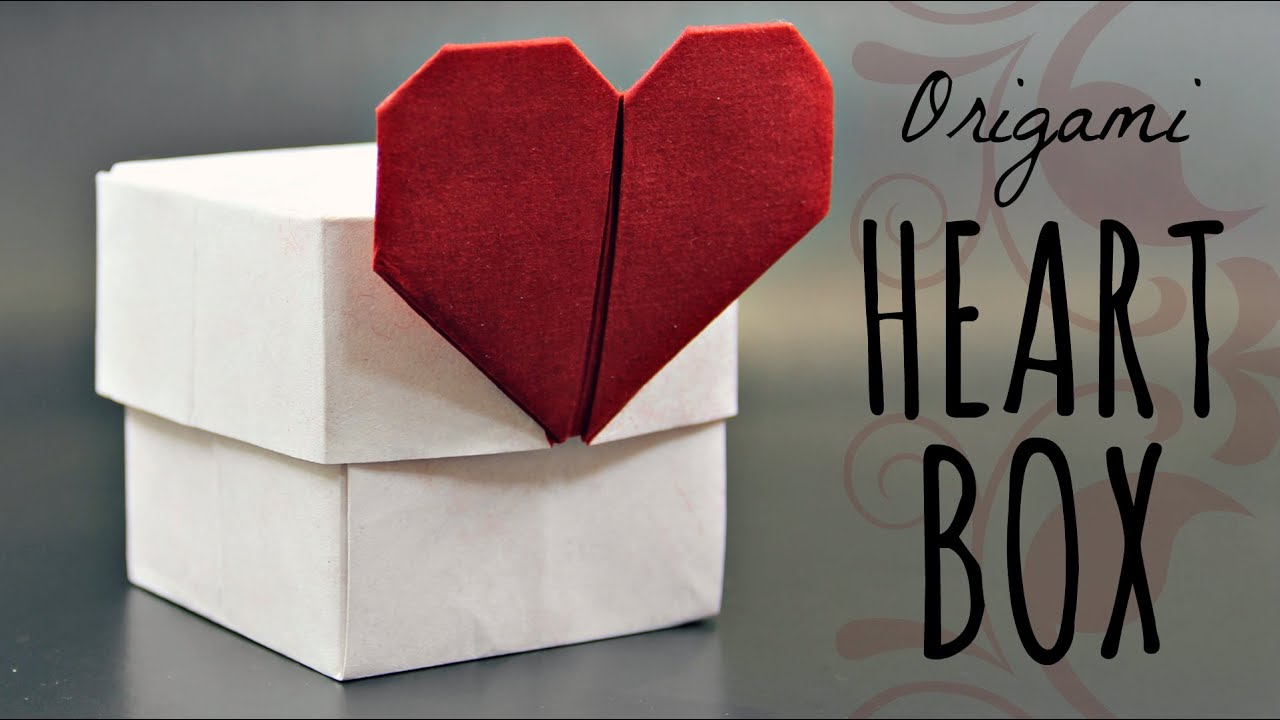 love heart origami instructions