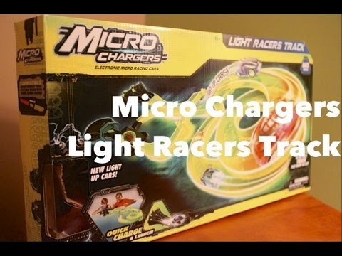 micro chargers light racers track instructions