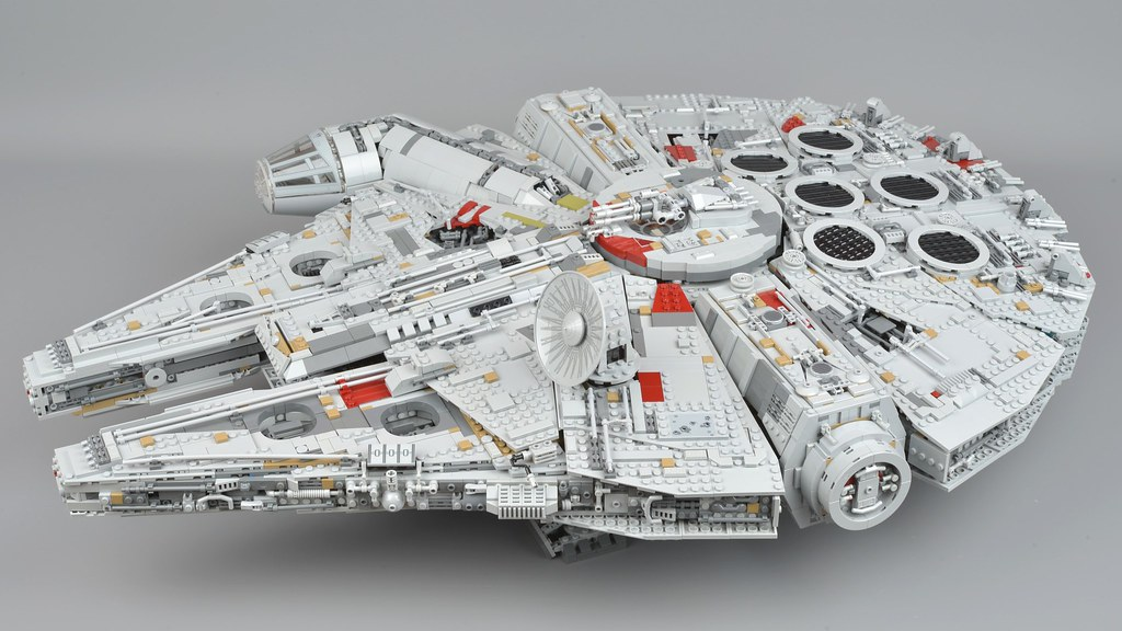 millennium falcon lego instruction manual