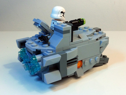 mini lego imperial troop transport instructions