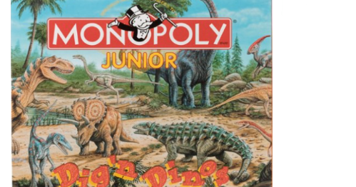 monopoly junior dig n dinos instructions
