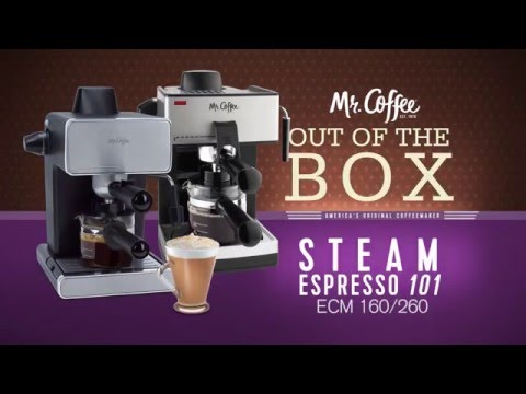mr coffee steam espresso cappuccino maker instructions