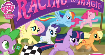 my little pony race through ponyville instructions