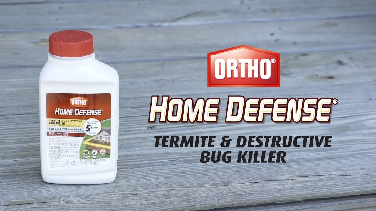 ortho home defense max instructions
