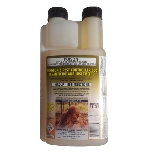 pigeon pest controller 500 termiticide and insecticide instructions