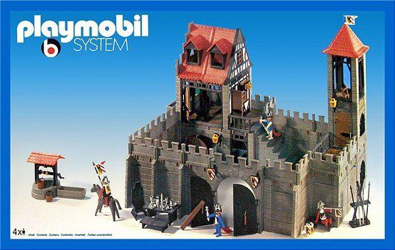 playmobil dragon castle 3269 instructions