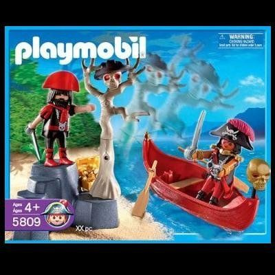 playmobil pirate dinghy instructions