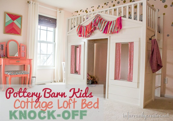 pottery barn cottage loft bed instructions