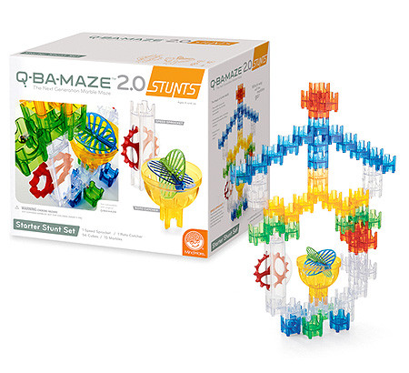 q ba maze ultimate stunt set instructions pdf