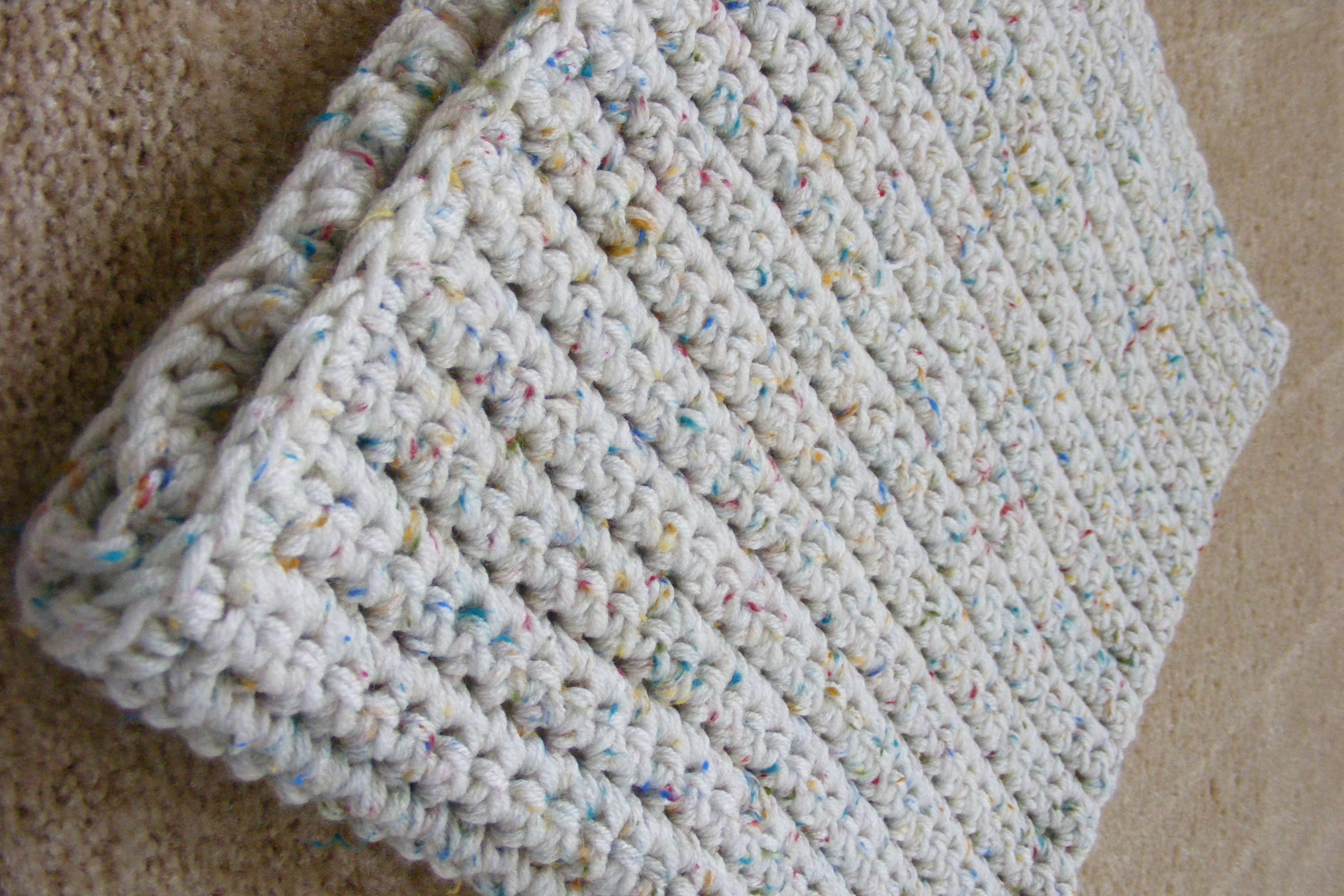 quick to knit chunky blanket instructions