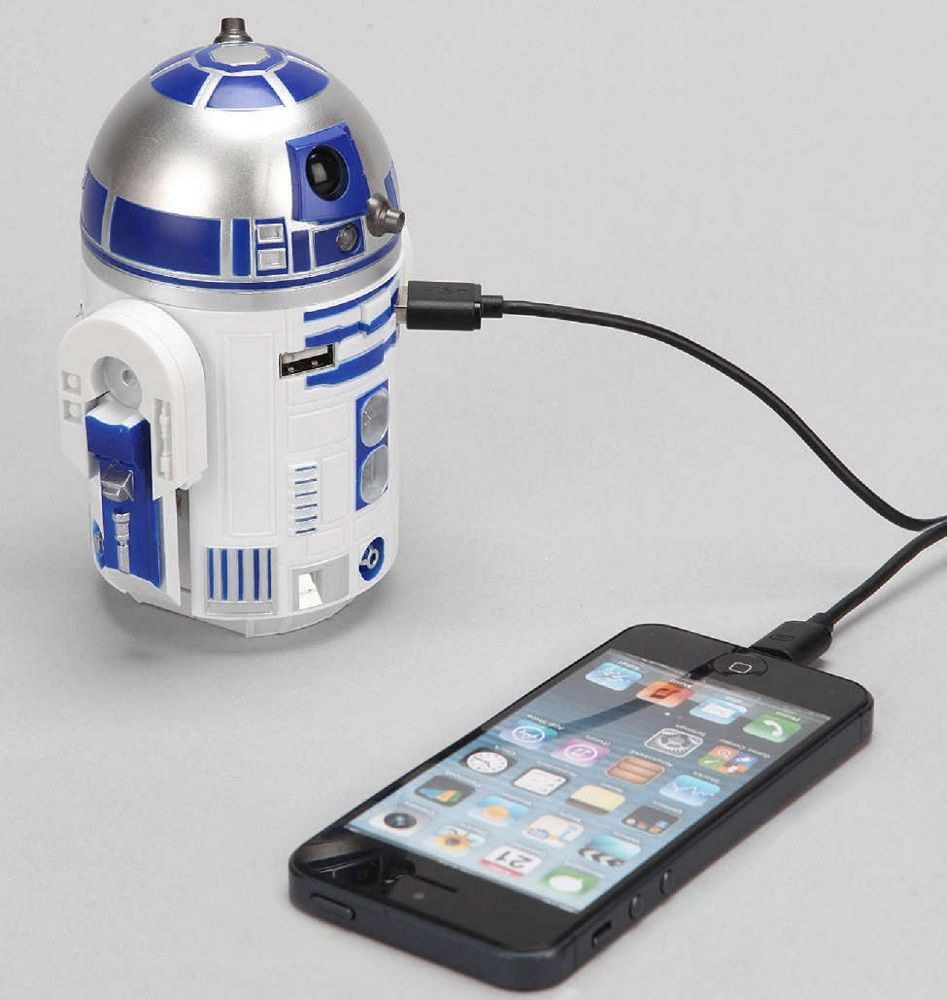 r2d2 usb car charger instructions