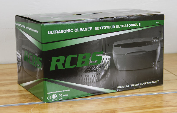 rcbs ultrasonic cleaner instructions