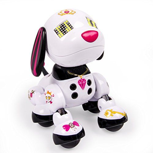 robot dog toy zoomer instructions