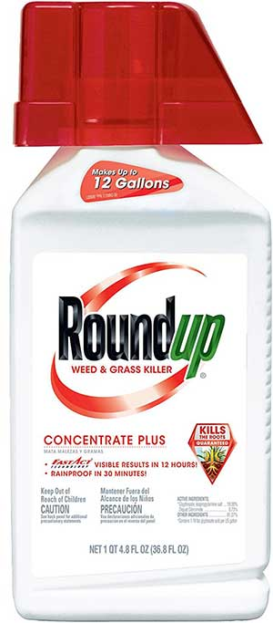 roundup weed killer concentrate plus instructions