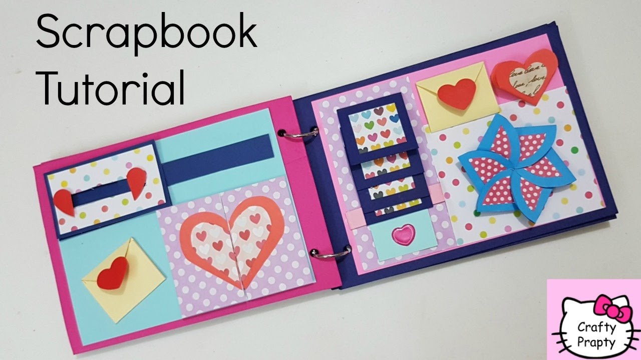 scrapbook in a box instructions