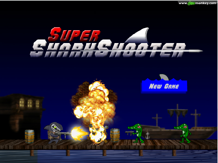 shark shooter game instructions