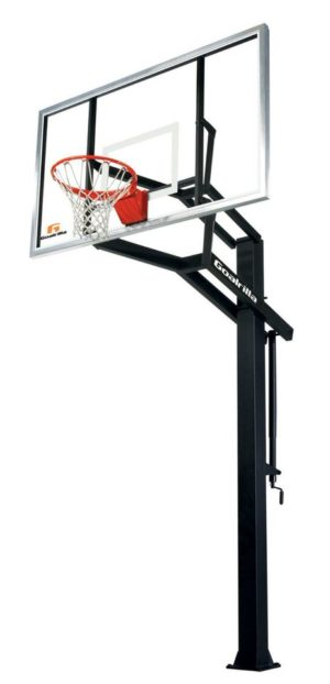 spalding 54 inch in ground basketball system instructions