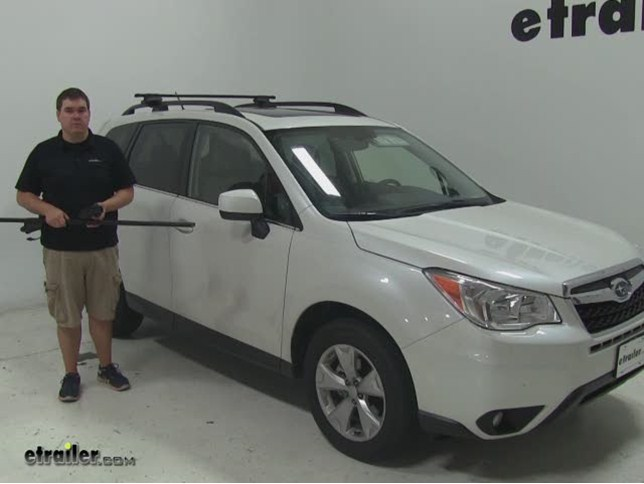subaru forester roof rack installation instructions