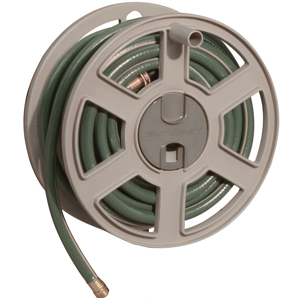 suncast wall mount hose reel instructions