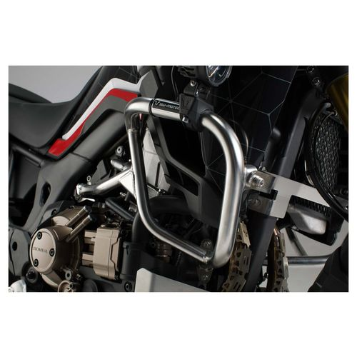 sw motech africa twin crash bar mounting instruction