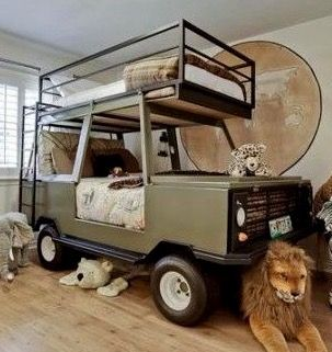 toddler jeep bed instructions