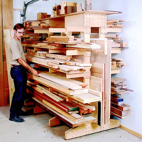 triton wood rack storage system instructions