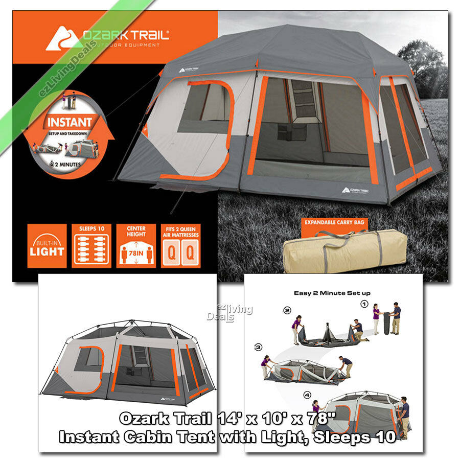 two room tent instructions