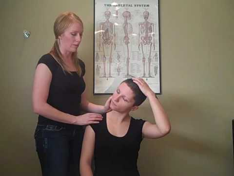 upper trapezius stretch instructions