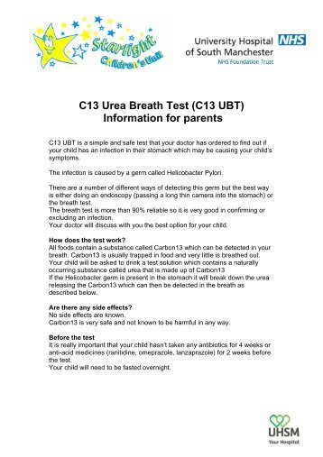 urea breath tests instructions chinese