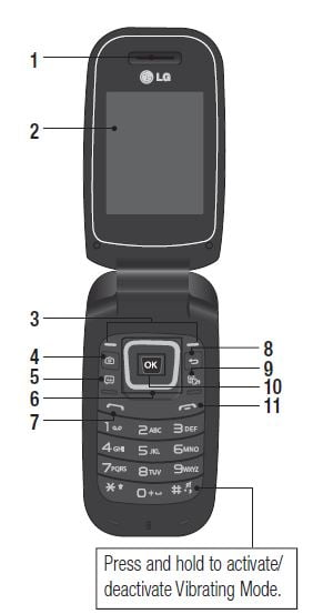 verizon lg cell phone instruction manual