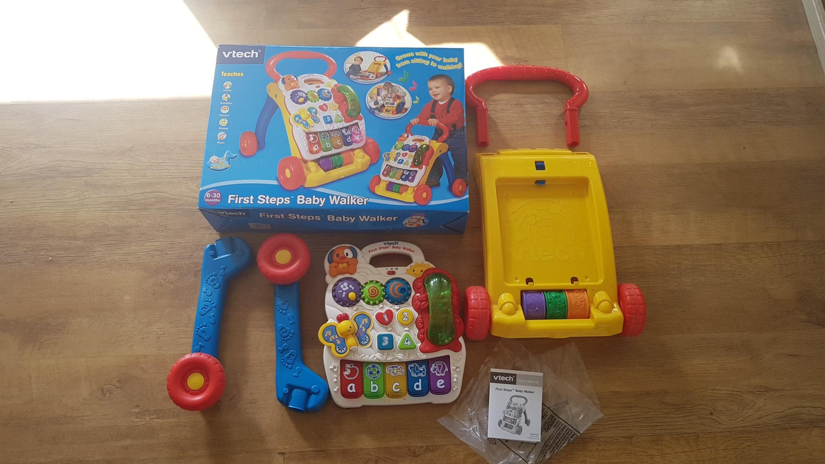 vtech first steps walker instructions