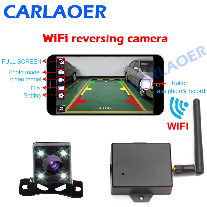 wireless reversing camera instructions