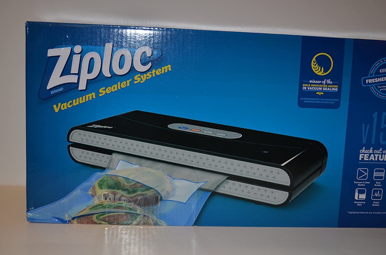 ziploc vacuum sealer instructions