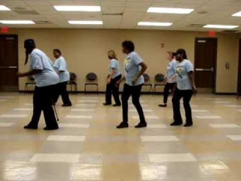 zydeco bounce line dance instruction